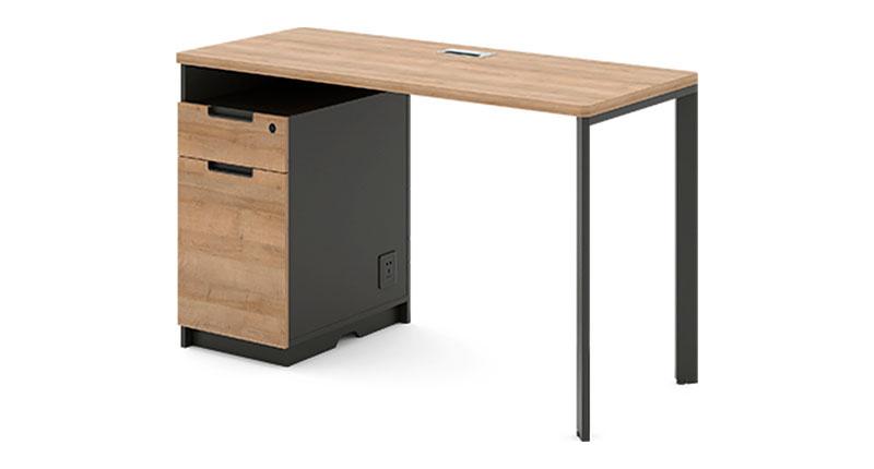 Офисный стол из ЛДСП меламиновая доска. Размер1400W*600D*750H
