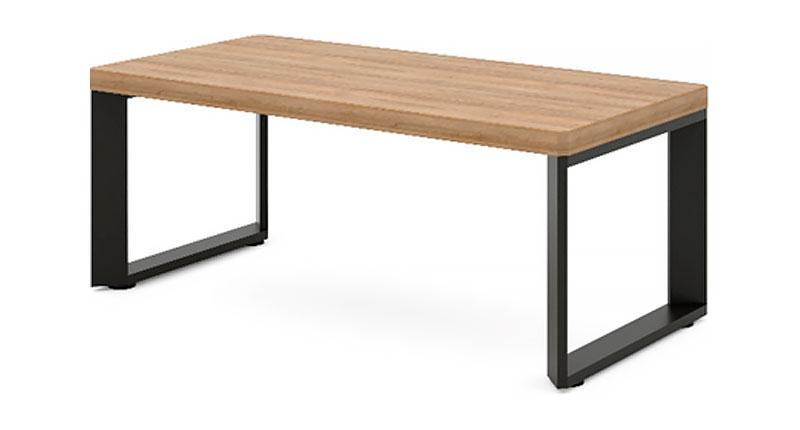 Журнальный столик из ЛДСП меламиновая доска. Размер 1200W*600D*450H
