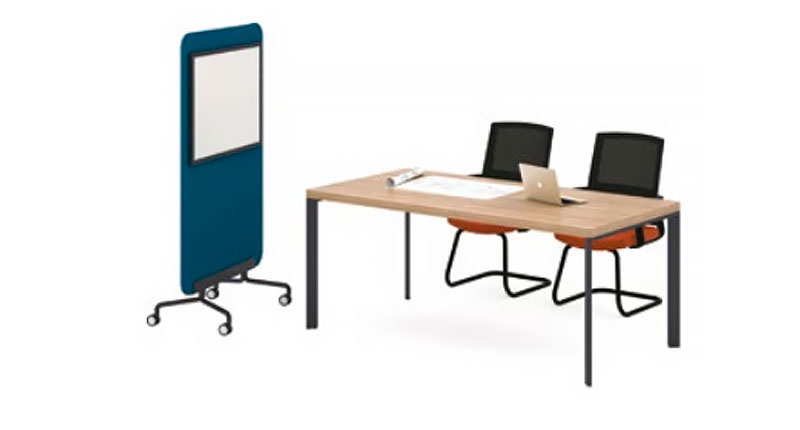 Конференц стол из ЛДСП, меламиновая доска. Размер 2200W*1000D*760H