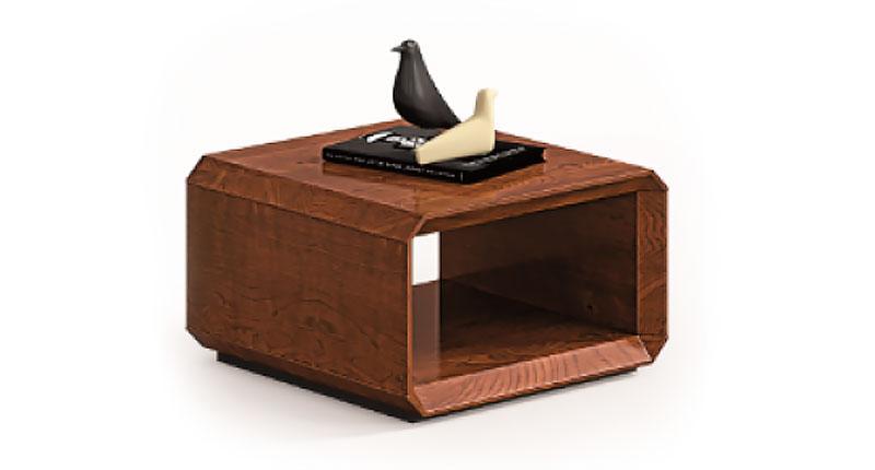 Журнальный стол Open Varnish, из МДФ, класса Е1. Размер: 700W*700D*420H