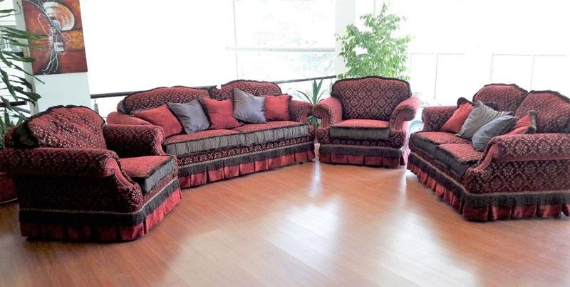 Комплект мягкой мебели DIVA WINE